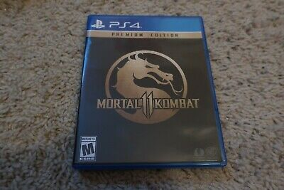 Mortal Kombat 11 (Playstation 4, 2019) PS4 - Used, Very Good Condition