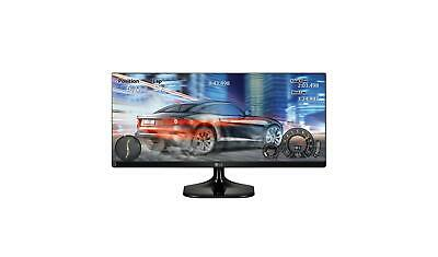 "LG 29UM58-P 29"" IPS LED HD 21:9 UltraWide Monitor Black 2560x1080 2HDMI Split"