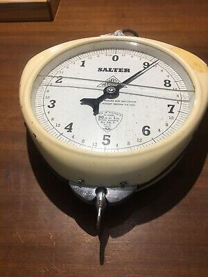"""Vintage Salter Scales No 236 T 30lb Made in Australia """"Thermoscale"""""""