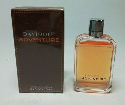Davidoff Adventure After Shave Lotion 100 ml  Splash (NO SPRAY ) New & Rare