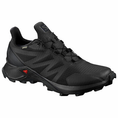 Salomon Damen Trailrunning SUPERCROSS GTX W schwarz