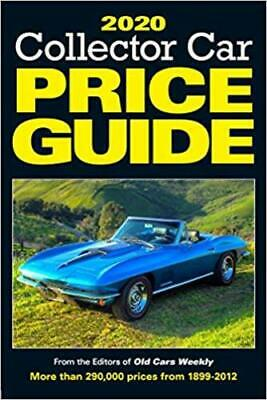 2020 Collector Car Price Guide by Old Cars Report Price Guide Editors NEW US