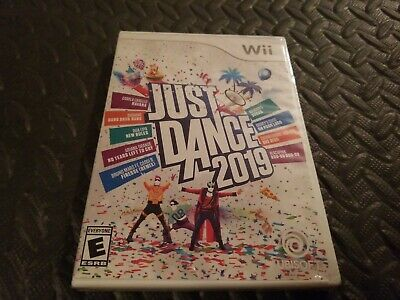 Just Dance 2019 Game, Nintendo Wii, U compatible Brand New, FAST FREE SHIPPING!