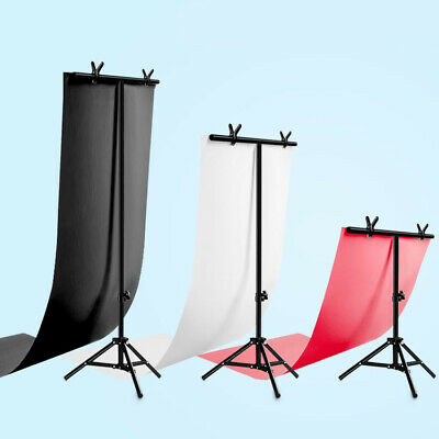 Adjustable T Backdrop Stand Background Photo Studio Photography Support
