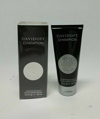 Davidoff Champion After Shave Balsamo 100 ml  Splash (NO SPRAY ) New & Rare