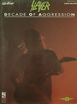 Slayer Guitar Tab / Decade Of Aggression / Slayer Guitar Tablature Songbook