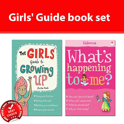 Girls' Guide to Growing Up, What's Happening to Me? Girls Edition Books Set NEW