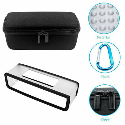 Portable EVA Storage Carry Case With Soft Cover For Bose Soundlink Mini I II