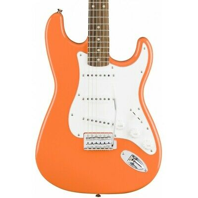 Guitarra Electrica SQUIER Affinity Stratocaster Competition Orange LRL