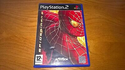 Spider-Man 2 - Sony PlayStation 2 - complete with manual - free postage