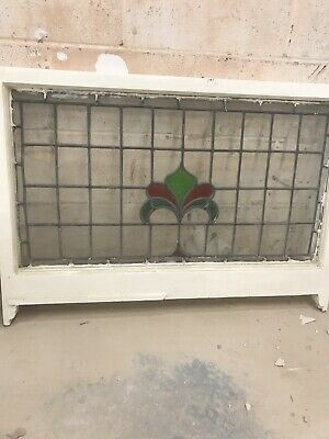Reclaimed Vintage Stained Glass Window Panels