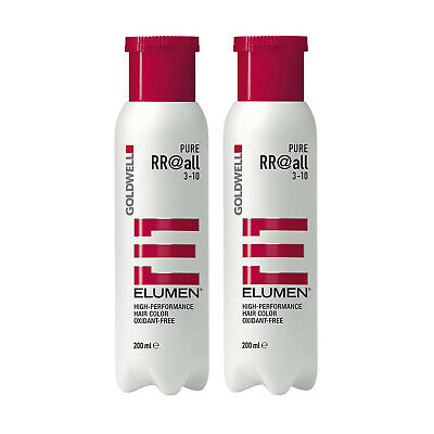 Goldwell Elumen Pure Red RR reinste intensivste Modefarben 2 x 200 ml