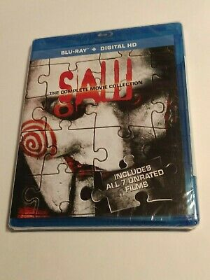 Saw: The Complete Movie Collection (Blu-ray Disc, 2014)