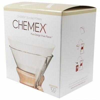 Chemex Coffee Filter Papers for 6-8-10 Cup (100)