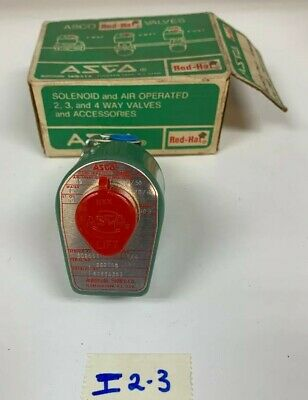"""ASCO 8262A263 120/60 110/50 2-Way Solenoid Valve 1/4"""" *NEW* Fast Shipping!"""