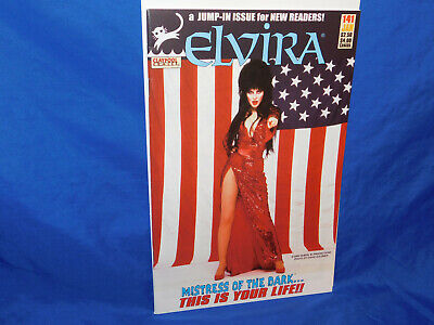 Claypool Elvira Mistress of The Dark #141 Stars & Stripes Photo Cover Rare