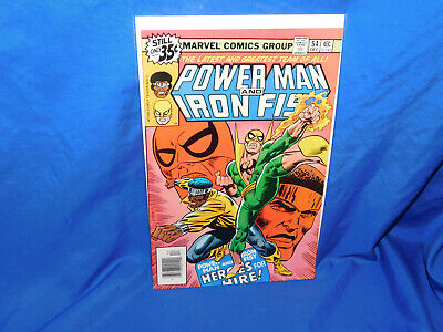 POWER MAN AND IRON FIST #54 Marvel 1978 1st Appearance Heroes For Hire Title VF+