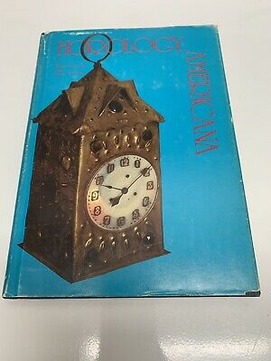 Horology Americana Antique Clocks Autographed Signed Book Free Media Shipping
