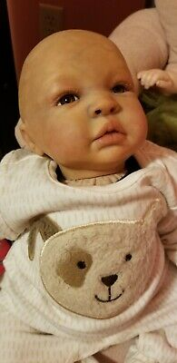 Reborn Baby Boy with magnetic paci