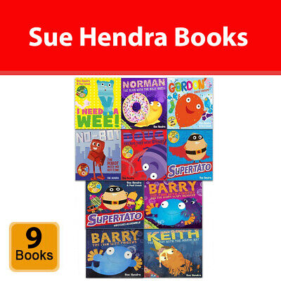 Sue Hendra 9 Books Collection Set Supertato and Other Stories Children Pack NEW