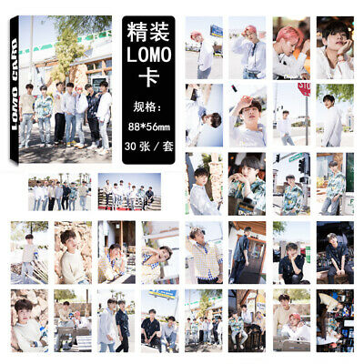 30Pcs/set KPOP BTS Bangtan Boys Vlive Dispatch Lomo Card Photo Card Poster