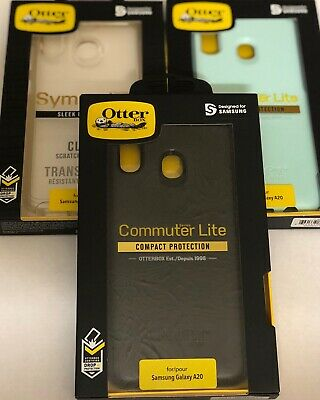New Otterbox Samsung Galaxy A20 Commuter / Symmetry Series Case Authentic