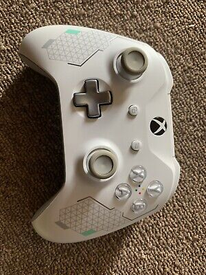 Microsoft Xbox One 1 Wireless Controller Sport White And Teal Green Blue. Tested