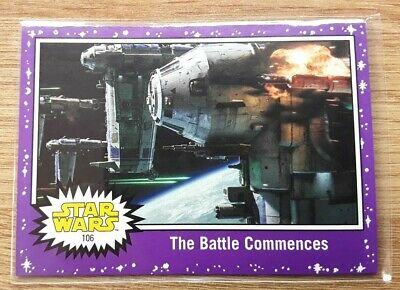 Star Wars Journey to the Last Jedi ~ PURPLE PARALLEL BASE CARD 106