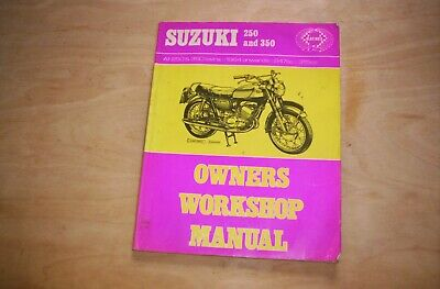Haynes Workshop Manuale SUZUKI 250 350 TWINS 1968-1978 T250 GT250 T305 T3500