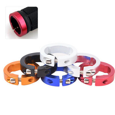 1pc Bicycle Grips Ring Aluminum Alloy End Lock Rings Handlebar Bike PartsLD