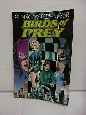 Black Canary & Oracle: Birds of Prey Trade Paperback (1999 DC Comics) Movie Soon
