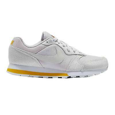 NIKE WMNS MD RUNNER 2 SE Sneakers Basse Scarpe Donna AQ9121 002 ARGENTO