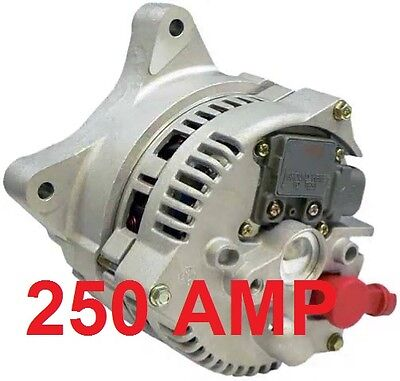 250Amp High Output Alternator Ford Mercury Lincoln 4.6L 5.4L 6.8L V8 V10 250Amp