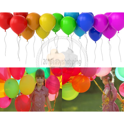 30 X Latex PLAIN BALOON DECOR helium BALLOONS Quality Wedding Marriage  PARTY