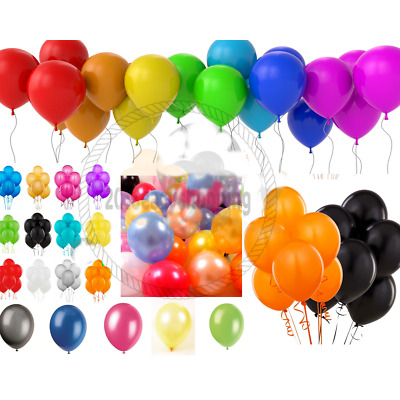 30 X Latex PLAIN BALOON DECORATIONS  BALLOONS Quality Wedding Marriage  PARTY