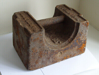 Vintage 56lb Cast Iron Weight / Door Stop