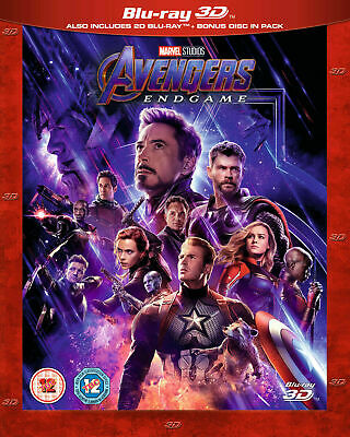 Disney Marvel's AVENGERS: ENDGAME 3D AND 2D Blu-ray