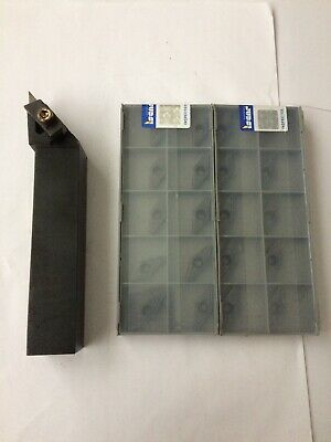 Kennametal Turning Tool Nvlcr-2525 M16 With 20 X Iscar Vcmt Tips New