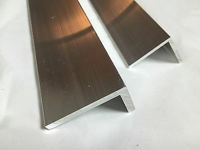 Aluminium Angle L Profile Mill Finish 6060 Grade Various Lengths Thickness 2 3 4