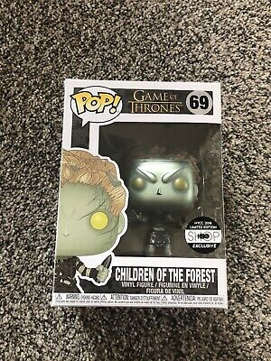 Funko POP Children Of The Forest Game Of Thrones Metallic HBO Exclusive #69