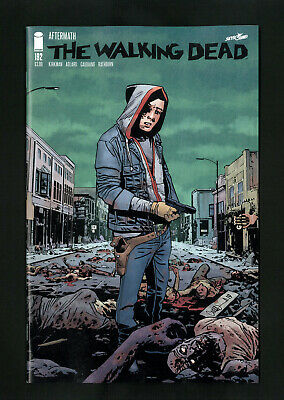 Walking Dead #192 NM+ 1st Print 2019 Image Comics Cover A Death of Rick Grimes