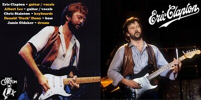 Eric Clapton RARE 2CD St. Louis, MO; February 1983 Excellent Sound Quality!!!