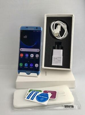Samsung Galaxy S7 Edge SM-G935A 32GB Blue Coral! GSM Unlocked Free Shipping!