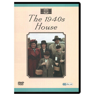 The 1940s House (2000) DVD, 2-Disc Docu-Series (New, Factory Sealed)
