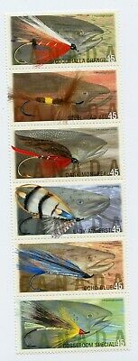 Weeda Canada 1720aii VF mint NH Unfolded strip of 6 1998 Annual Collection CV$10
