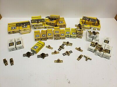 Mixed lot Square D Thermal Overload Relay Heater Element DD 250, DD 320, B 14.