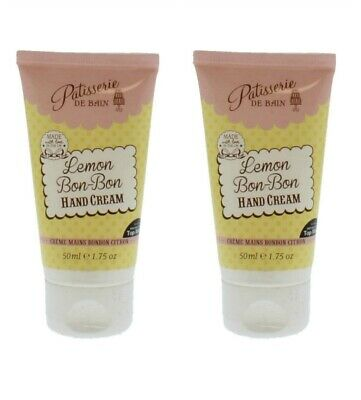 2 X Patisserie De Bain Hand Cream Lemon Bon Bon 50Ml