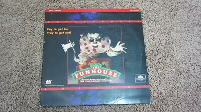 The Funhouse - 1981 Universal, Letterboxed edition - Extended Play, LASERDISC.