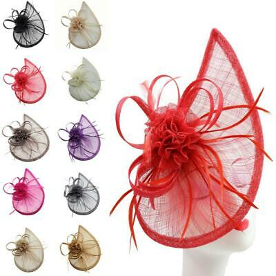 Large Hat Clip And Headband Fascinator Weddings Ladies Day Race Royal Ascot