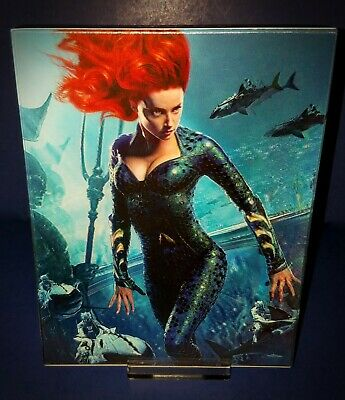 Aquaman Hdzeta Manta Lab  Hybrid Blu Ray Steelbook Double Lenticular Edition *